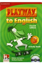 Купить - Книги - Playway to English. Level 3. Activity Book (+CD)