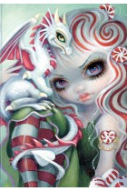 Купить - Блокноты - Jasmine Becket-Griffith. Peppermint Dragonling
