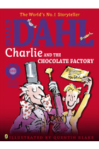 Купити - Книжки - Charlie and the Chocolate Factory. Colour book and CD
