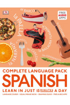 Купити - Книжки - Complete Language Pack Spanish. Learn in just 15 minutes a day
