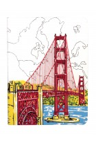Купить - Блокноты - Handmade Journal: San Francisco Golden Gate