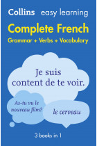 Купить - Книги - Collins Easy Learning. Complete French. Grammar Verbs Vocabulary. 3 Books in 1. 2nd Edition
