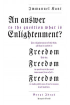 Купити - Книжки - An Answer to the Question: 'What is Enlightenment?'