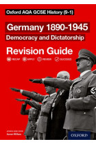 Купити - Книжки - Oxford AQA GCSE History Revision Guides Germany 1890-1945 Democracy and Dictatorship Revision Guide