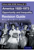Купити - Книжки - Oxford AQA GCSE History Revision Guides America 1920-1973: Opportunity and Inequality Revision Guide