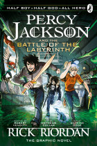 Купить - Книги - Percy Jackson and The Battle Of The Labyrinth. The Graphic Novel. Book 4