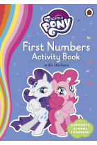 Купити - Книжки - My Little Pony. First Numbers Activity Book with Stickers