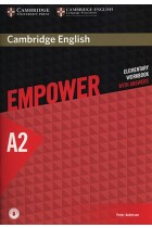 Купить - Книги - Cambridge English Empower A2 Elementary Workbook with Answers with Downloadable Audio