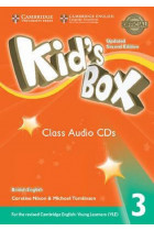 Купить - Аудиокниги - Kid's Box Level 3 Class Audio CDs (3) British English