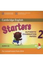 Купити - Аудіокниги - Cambridge English Young Learners 2 for Revised Exam from 2018 Starters Audio CD: Authentic Examination Papers
