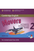 Купити - Аудіокниги - Cambridge English Young Learners 2 for Revised Exam from 2018 Movers Audio CDs: Authentic Examination Papers