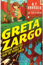 Купити - Книжки - Greta Zargo and the Amoeba Monsters from the Middle of the Earth