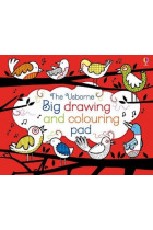 Купить - Книги - Big Drawing, Dooling and Colouring tear-off Pad