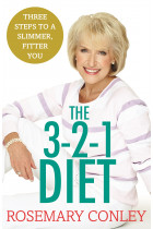 Купити - Книжки - Rosemary Conley's 3-2-1 Diet. Just 3 steps to a slimmer, fitter you