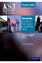 Купити - Книжки - KS3 History by Aaron Wilkes Depth Study Resources Terrorism: The Rise of Terror Tactics in the Modern World Teacher Support Guide + CD