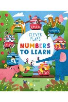 Купить - Книги - Numbers To Learn. Lift-The-Flap Book