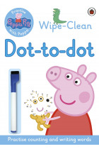 Купити - Книжки - Peppa Pig: Wipe-clean Dot-to-Dot