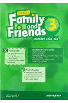 Купить - Книги - Family and Friends 3 Second Edition Teacher's Book Plus