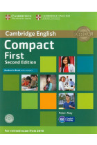 Compact First Student's Book with Answers