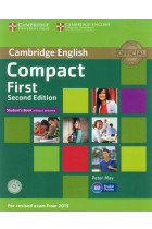Compact First Student's Book without Answers (+CD)