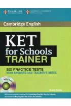 Купить - Книги - KET for Schools Trainer Six Practice Tests with Answers