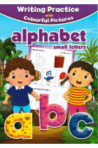 Купити - Книжки - Writting Practice with Colourful Pictures alphabet small Letters