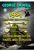 Купити - Електронні книжки - 1984. Nineteen Eighty-Four. Animal farm. Down and Out In Paris and London. Illustrated