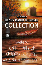 Купити - Книжки - Henry David Thoreau Collection. Walden. On the Duty of Civil Disobedience. Walking and Cape Cod