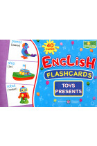Купить - Книги - English flashcards. Toys, presents