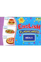 English flashcards. Meals