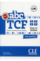 Купить - Книги - ABC DELF TCF + LIVRET + CD Audio NE - version Quebec (French Edition)