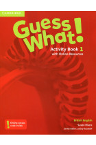 Купить - Книги - Guess What! Level 1. Activity Book with Online Resources. British English