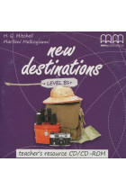 Купить - Книги - New Destinations. Level B1+. Teacher's resource CD/CD-ROM
