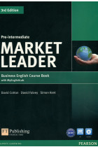 Купить - Книги - Market Leader 3rd Edition. Pre-Intermediate. Coursebook with DVD-ROM and MyEnglishLab Student online access code Pack