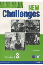 Купити - Книжки - New Challenges 3. Workbook (+ Audio-CD)