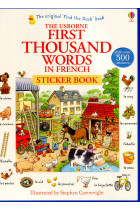 Купить - Книги - The Usborne First Thousand Words in French Sticker Book (+наклейки)