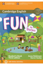 Купить - Книги - Fun for Starters. Third Edition. Student's Book with Downloadable Audio and Online Activities