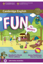 Купить - Книги - Fun for Movers. Third Edition. Student's Book with Online Activities