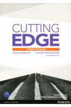 Купить - Книги - Cutting Edge Upper Intermediate Teacher's Resource Book (+ CD-ROM)