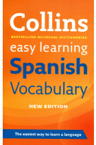 Купить - Книги - Collins Easy Learning Spanish Vocabulary
