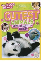 Купить - Книги - Cutest Animals. Sticker Activity Book