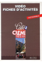 Купить - Книги - Cafe Creme 3. Fiches d'activites. Photocopiables
