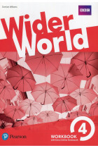 Купити - Книжки - Wider World 4. WorkBook with Extra Online Homework