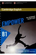 Cambridge English. Empower Pre-intermediate В1. Teacher's Book