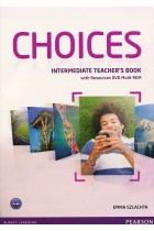 Купить - Книги - Choices Intermediate Teacher's Book (+ DVD Multi-Rom)