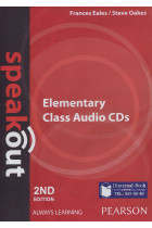 Купить - Книги - Speakout Elementary 2nd Edition Class CDs