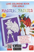 Купить - Книги - Live Coloring Book for Girls. Magical Fairies