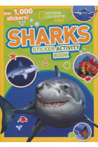Купить - Книги - Sharks. Sticker Activity Book