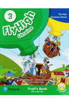 Купити - Книжки - Fly High Ukraine 3. Pupil's Book (+ CD-ROM)