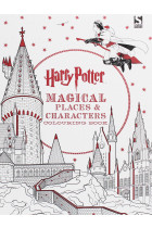 Купити - Книжки - Harry Potter Magical Places and Characters Colouring Book